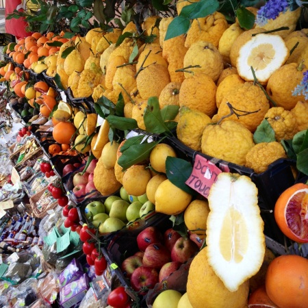 Fruite and vegetables of Sicily