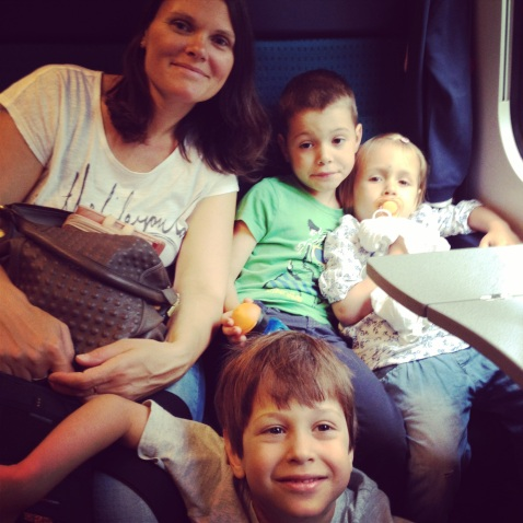 Ready to leave for Italy by train